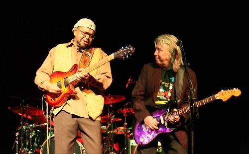 Larry Garner + Norman Beaker  photo 2010