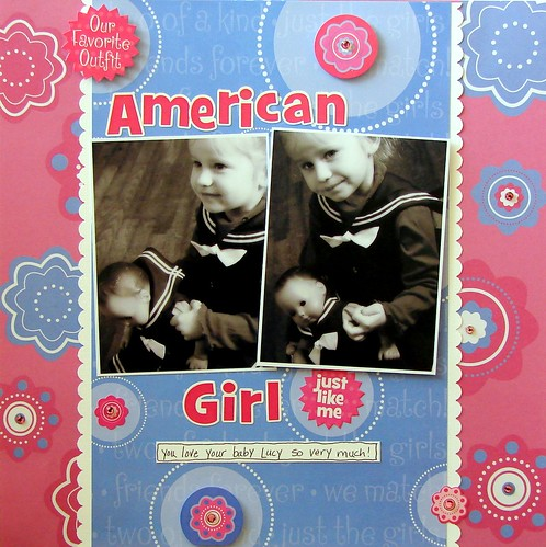 Creative Imaginations American Girl Collection