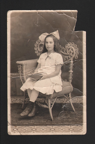 Grandma Rae's Graduation Portrait