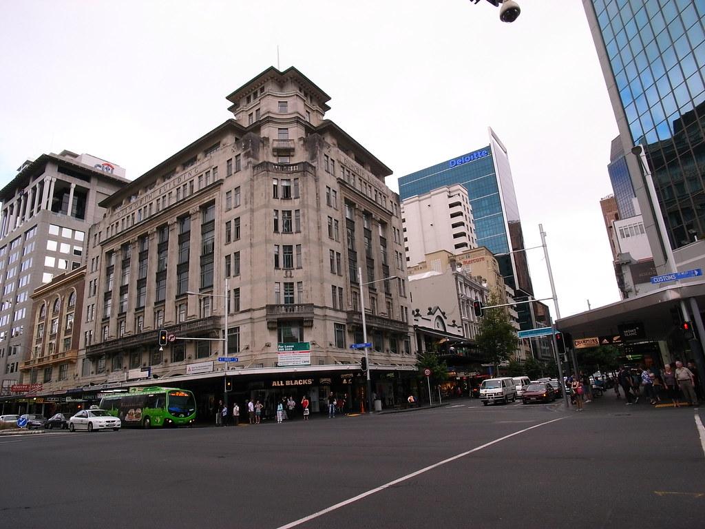Queen Street is 10 mins walk from hotel