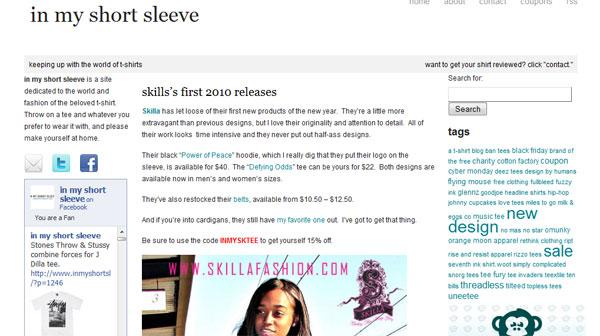 Reviewed by InMyShortSleeve.com