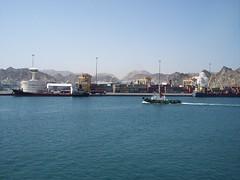 100_3564 (drum881) Tags: yard persian ship gulf royal east caribbean middle shipyard shipping oman muscat seas brilliance