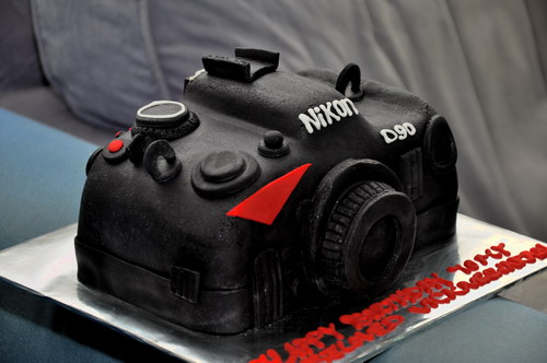 Nikon D90 Birthday Cake Big Boys Oven
