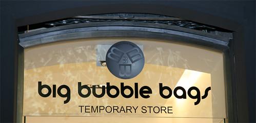 Temporary Store di Big Bubble Bags (BBB)