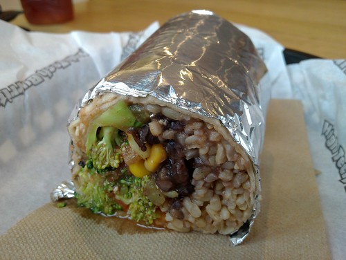 High-tech Burrito