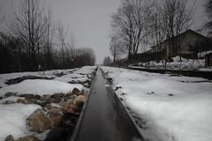 snow on track