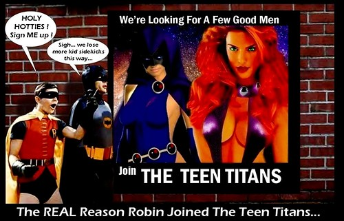 BATMAN : The REAL Reason Robin Joined The Teen Titans
