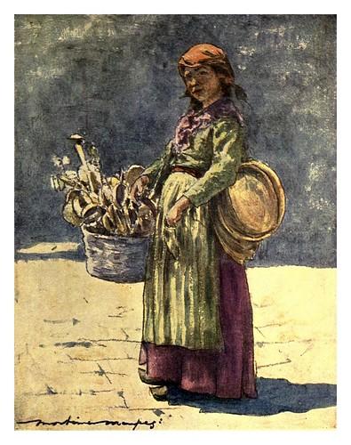 021- Vendedora de cucharas de madera-Venice – 1904-Dorothy Menpes