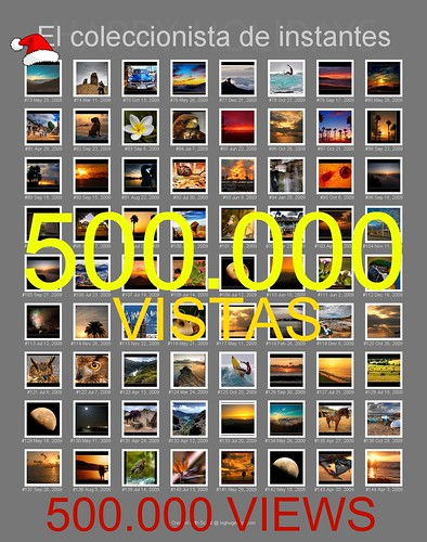 + 500.000  VISTAS - VIEWS