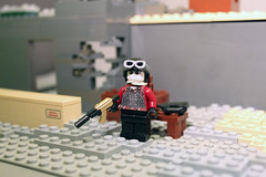 Red as blood (Exxtrooper) Tags: camera new red 2 urban station modern soldier gold cool blood doors lego bright map ak camo made soviet ba minifig custom 47 multiplayer skidrow warfare enviroment plated avtomat exx amirite brickarms spetnaz exxtrooper