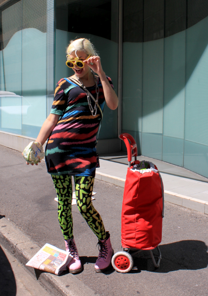 steph mountzouris adelaide street fashion shot