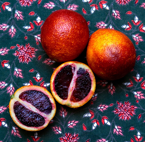 Blood Oranges are beautiful
