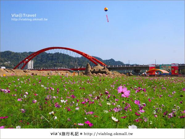 【2010春節旅遊】春節假期~南投市貓羅溪沙雕藝術節5