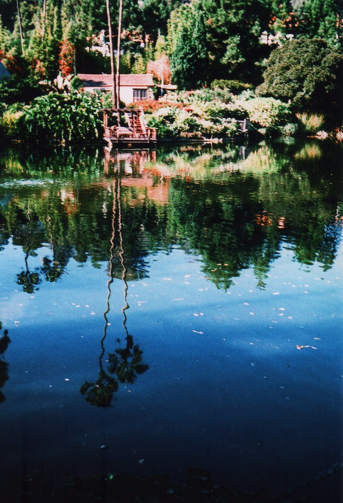 Shrine Lake / Smena Symbol / Kodak ED 200 xpro