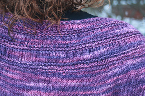 Tea Leaves Cardigan in Mas Acero