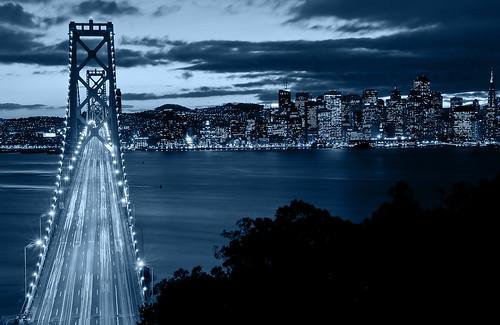 Bay Bridge Twilight