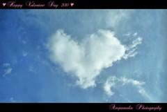 Happy Valentine Day 2010 (Heart Cloud) / สุขสันต์วันวาเลนไทน์ครับ (เมฆรูปหัวใจ)