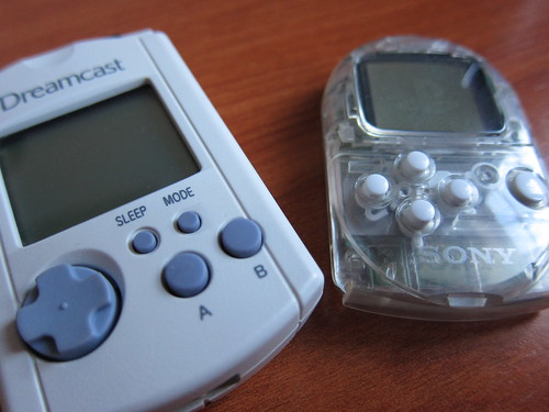 VMU Vs. PocketStation