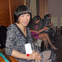 Judy Communicating (Rixn) Tags: dance shanghai swings swing hop lindy