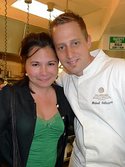 with Chef Michael Voltaggio