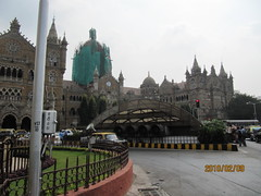 Subway across to Chhatrapati Shivaji Terminus