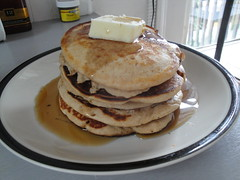 tyler - Dad's Buttermilk Wheat Pancakes