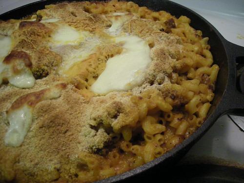 Chorizo Mac-N-Cheese