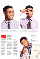 DRAKE 2010 GQ MAGAZINE PICTURES