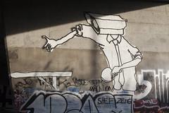 first serve (eb78) Tags: sf sanfrancisco california ca urban graffiti cctv urbanexploration bayarea bayview ur urbex