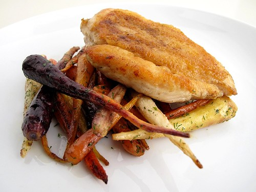 pan-roasted chicken breast