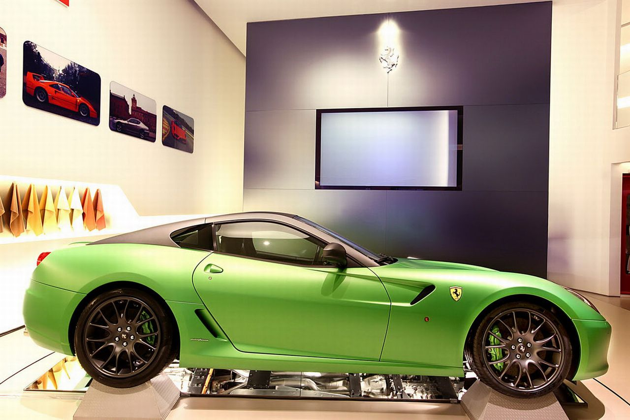 Ferrari 599GTB Hybrid concept