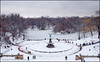 Bethesda (scottdunn) Tags: nyc newyorkcity winter snow newyork centralpark bethesda pap bethesdafountain ep1 thelake bethesdaterrace