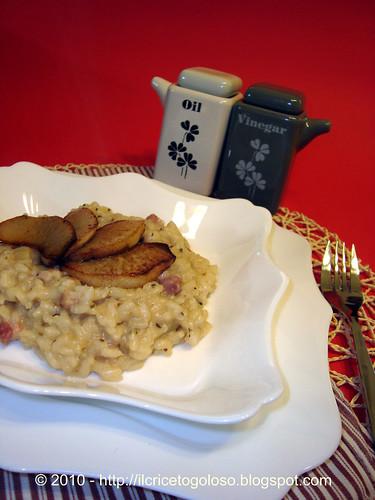 Risotto alle pere con salvia e pancetta (1)