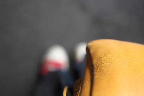feet, bag, me