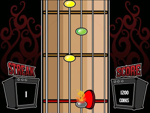 free Rock On slot bonus game