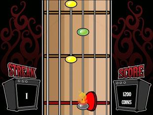 free Rock On slot bonus game