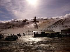 Ski lift at dawn (raphic :)) Tags: park morning winter sky people sun snow ski clouds dawn skiing lift poland polska national skis zima nieg poranek soce ludzie narty wycig babia gra chmury niebo zawoja zimowisko narodowy raphic wit babiogrski narciarski narciarstwo bestofmywinners mygearandmepremium mygearandmebronze mygearandmesilver