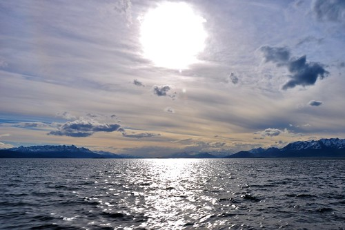 The Surreal Sun on the Beagle Channel