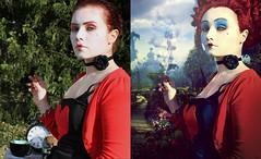 Red Queen (n1tn4t) Tags: photoshop redqueen alicewonderland