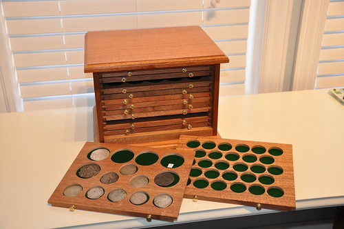 Ray Williams' Coin Cabinet