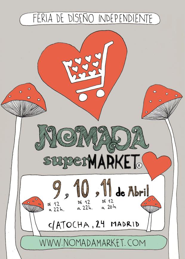 Cartel para el NomadaMarket