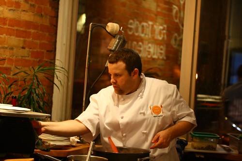 Matt Working The Oven