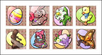 free Eggstravaganza slot game symbols