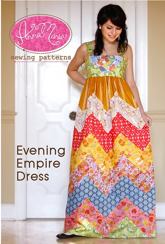 evening.empire.dress.cover by annamariahorner.