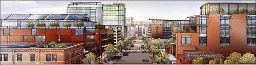 concept rendering of Denver's Living City Block (by: Living City Block)