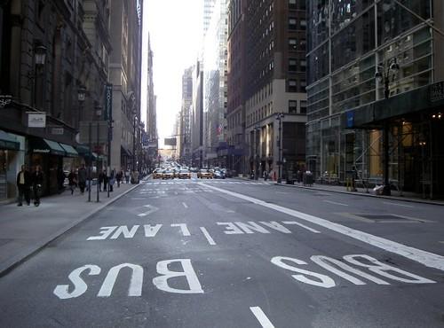 Calles de New York Foto