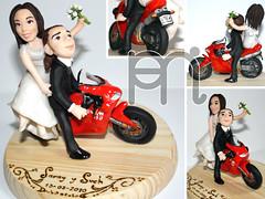 Pareja de Novios (Wedding Cake Topper)