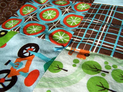 Knot on Boy Patchwork Play Mat