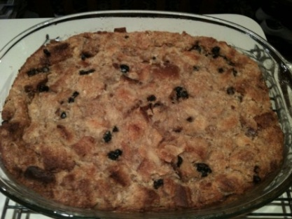 Cinnamon Raisin Swirl Bread Pudding