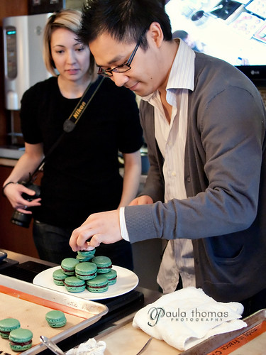 Stacking Macarons